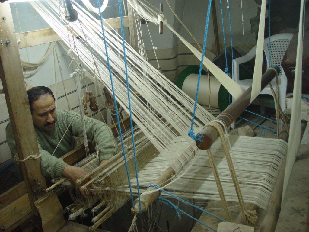 The Art of Syrian Textile Production